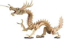 Dragon: Woodcraft Construction Wooden 3D Model Kit CX 105 3 piece