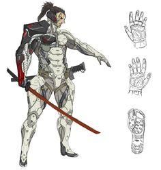 Samuel Body Design, Metal Gear Rising: Revengeance