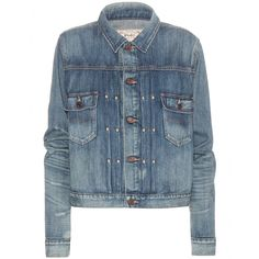 Polo Ralph Lauren - Denim jacket - The classic denim jacket is a wardrobe essential. Polo Ralph Lauren's classic style in a versatile shade of blue is a no-fuss cover-up. Team the denim piece with skinny trousers and loafers for an off-duty look. seen @ www.mytheresa.com