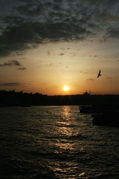 Sunset in #Istanbul