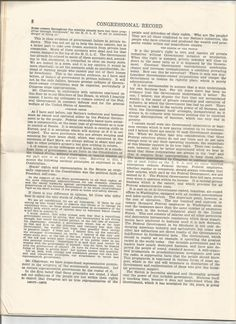 8-12 01 May 1939 Congressional Record 76th Congress First Session  Speeches of Hon. J. Thorkelson re: The most dangerous enemies are advocates of socialism and communism.