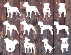 Pitbull decal, pitbull sticker, Love a bull, car decal, pitbull parent – SLrustic Pitbulls, American Pitbull, Pit Bull Love, Dog Tattoos, Car Decals, String Art, Dog Art, Animals And Pets, Dog Breeds