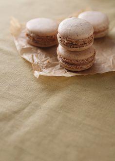 Almond Macarons with Caramelized White Chocolate Ganache