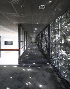 Dominus Estate by Herzog & de Meuron - Interior Shot (image from ArchitectureWeek.com)