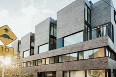A townhouse complex by Freadman White takes the idea of multifunctional spaces to a new level.