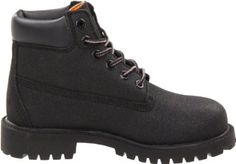 Timberland Youth's 6 in. Premium Waterproof Scuff Proof Boot - Black 1 - Youth/ Regular Timberland. $77.99