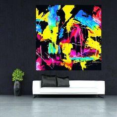 LEINWAND BILD ER XXL POP ART FARBKLECKSE ABSTRAKT BUNT MODERNE KUNST SPLASH DEKO   eBay Bunt, Pop Art, Artist, Ebay, Artworks, Sculptures, Acrylic Art, Museum Of Art, Wall Decorations
