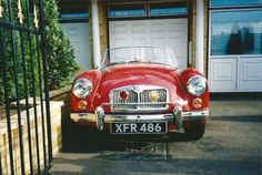 MG MGA 1600 MkII Roadster 1961 Red For Sale, (Car Advert 264641) | ClassicCarsForSale.co.uk