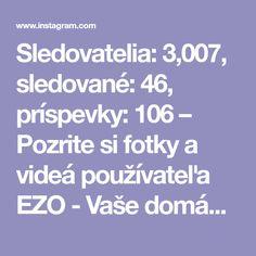 Sledovatelia: 3,007, sledované: 46, príspevky: 106 – Pozrite si fotky a videá používateľa EZO - Vaše domáce kúpele (@ezo_skcz) na Instagrame Photo And Video, Instagram