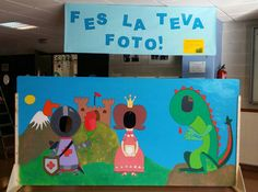 Sant Jordi Castle Classroom, Classroom Themes, Knight Party, Fairytale Castle, Thematic Units, Saint George, Photo Booth, Party Time, Fairy Tales