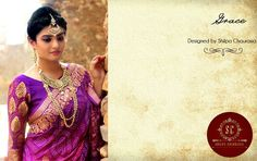Portrayal of Charm in Purple by Shilpa Chaurasia!
