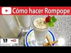 CÓMO HACER ROMPOPE   Vicky Receta Facil - YouTube
