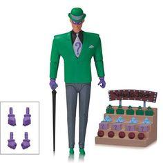 DC Comics Batman Animated Series Riddler Action Figure - Radar Toys
