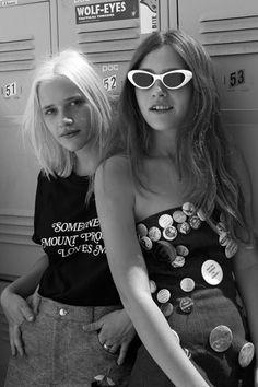 Teresa Oman & Sarah Marland Kick It In Emma Mulholland   Fashion Magazine   News. Fashion. Beauty. Music.   oystermag.com