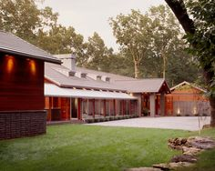 The Line House - modern - exterior - kansas city - Hufft Projects
