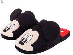 The solution is also today's Disney discovery! Today's Disney discovery is a pair of Mickey or Minnie Mouse slippers! Mickey Mouse Slippers, Disney Slippers, Black Slippers, Cute Slippers, Kids Slippers, Tall Winter Boots, Bedroom Slippers, Mini Mouse, Ladies Of London