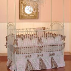 elegant baby bassinets | Also availabe is fabric by the yard and custom window treatments. For ...