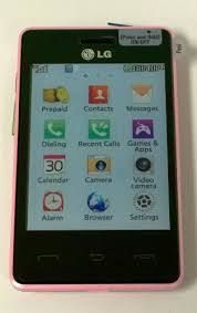Used pink Tracfone