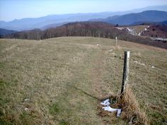 A Section of the Appalachian Trail with incredible 360 degree views near Hot Springs NC - Learn more at http://climbeverymountain.com/Hot_Springs_North_Carolina_Cabins_and_Vacation_Rentals.htm