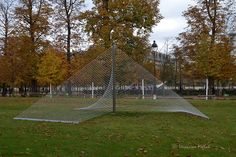 Jardin Des Tuileries : FIAC 2015 : Rayons (Les Tuileries) de Xavier Veilhan