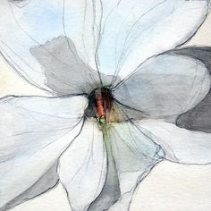 neutralnotes: White bloom by Amy M. Thomas