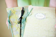 Include blank recipe pages in wedding invitations so you'll have a complete recipe book