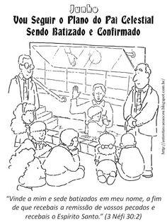 Recursos para Tempo de Compartilhar - Junho 2013, Batismo, Arrependimento, Perdão, Sacramento, Primária