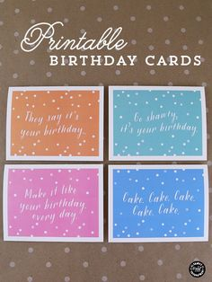Printable Birthday Cards with Envelope Liner Elegance and Enchantment | TodaysCreativeBlog.net: