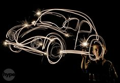 25 great examples of light-trail drawings | Digital Camera World. I want to do more light painting.