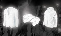 Here's a line of anti-paparazzi clothing for men that uses reflective threads to ruin flash photographs.