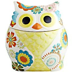 Pier 1 Owl Cookie Jar