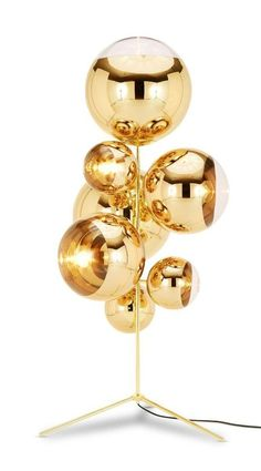 Mirror Ball Stand | Mirror ball, Tom dixon and Floor lamp