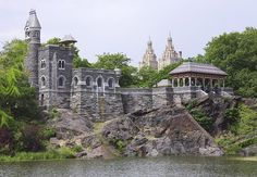 Belvedere Castle, Central Park, N.Y. Built in 1869 as a lookout point over Central Park, this Gothic-style castle still offers some of Manhattan's prettiest vistas. The National Weather Service has measured New York's wind speed and direction from its tower since 1919. Today it also houses a visitors center and the Henry Luce Nature Observatory.