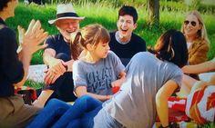 David Gilmour & family