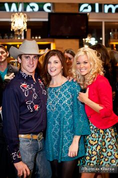 Levi Crocker and Ashley Kelly from Logo TV's A List: Dallas with Dallas lifestyle blogger, Cynthia Smoot of Oh So Cynthia