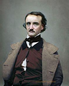Culture – Color by Klimbim Edgar Allan Poe, Writers And Poets, Goth Art, Portraits, Book Writer, Portrait Photo, Famous Faces, Historical Photos, People