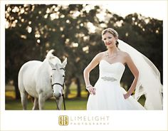 Limelight Photography, Wedding Photography, Barrington Hill Farms, Bride with horse, www.stepintothelimelight.com