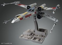 (BANDAI) STAR WARS 1/72 X-WING STAR FIGHTER (Plastic Model kit) #Bandai