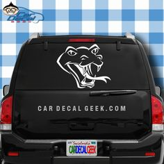 OK fellow herpers, we said it before and we'll say it again, we love snakes and all other reptiles here at the Geek, and this snake decal is pretty cool. If you agree and want to slap one on your herp-mobile, add a snake head car window decal sticker to your cart today! #snakehead #awesomeanimal