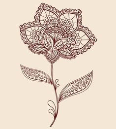 Tattoo with paisley print
