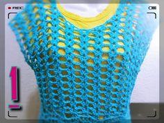 SUÉTER VICTORIA a #crochet TODAS LAS TALLAS( p 1) - YouTube
