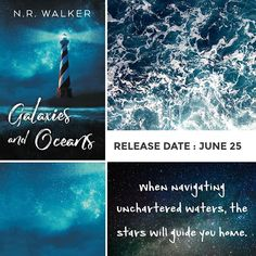 Two weeks until release day! Can't wait for you all to meet Patrick and Aubrey  #GalaxiesAndOceans #GayRomance