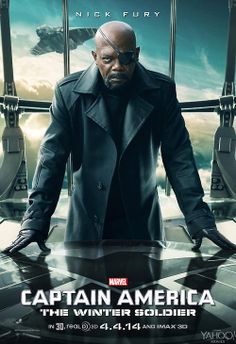 Captain America: The Winter Soldier Nick Fury Poster