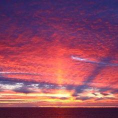 Cornish sunset #BeachRetreats