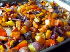 ROASTING VEGGIES ARE THE BOMB!  -Pick any vegetable -Cut into cube sized pieces -Heat oven to 400 degrees -Spray roasting pan with olive oil spray -Layer veggies in roasting pan -Sprinkle with paprika pepper sea salt onion powder basil and a little Stevia -Toss -Roast for about 10-20 minutes or until desired tenderness  The little bit of olive oil caramelizes and make the veggies so incredibly sweet and flavorful! - http://ift.tt/1HQJd81
