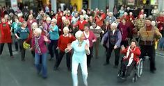 There's Something Different About This Awesome Flash Mob... Check It Out :)