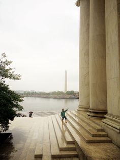 Rain doesn't have to stop the fun in Washington DC when you visit the Tidal Basin Cherry Blossoms. You will have more fun than you think, you just need to figure out where to take shelter and dress appropriately.