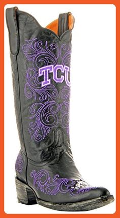 691ffae90 NCAA TCU Horned Frogs Womens Gameday Boots Black 75 B M US -- Check this  awesome product by going to the link at the image. (This is an affiliate  link)