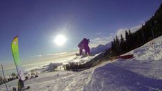 Snowboarding. Bielmonte, Oasi Zegna, #Italy