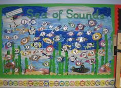 Sea of Sounds Classroom Display Photo - SparkleBox
